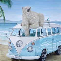 Free Spirit by Steve Tandy -  sized 30x30 inches. Available from Whitewall Galleries